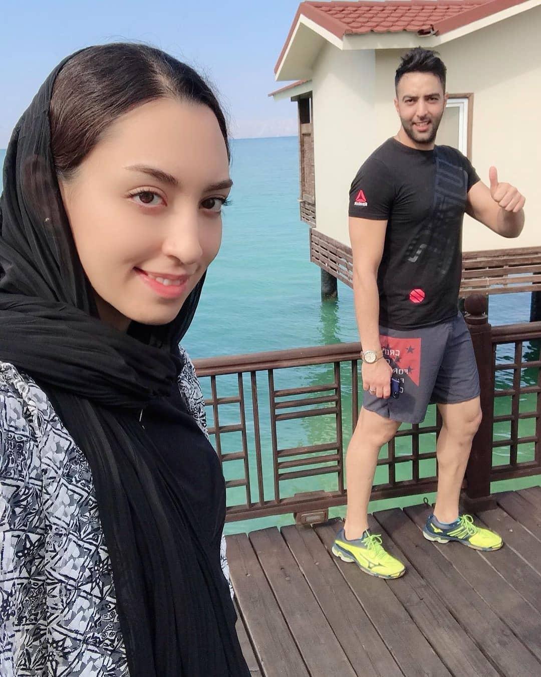 عکس/عکس های جنجالی کیمیا علیزاده در خارج از کشور!