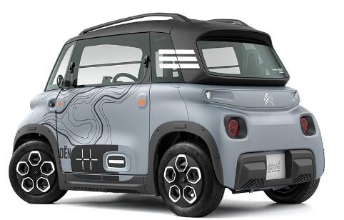 سیتروئن امی، ارزانترین خودرو برقی دنیا، معرفی شد
