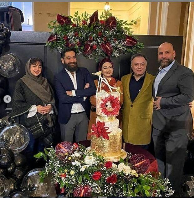 جشن تولد لوکس و شاهانه کتایون ریاحی! + عکس و ویدئو