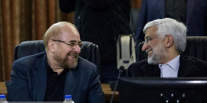 سعید جلیلی و محمد باقر قالیباف