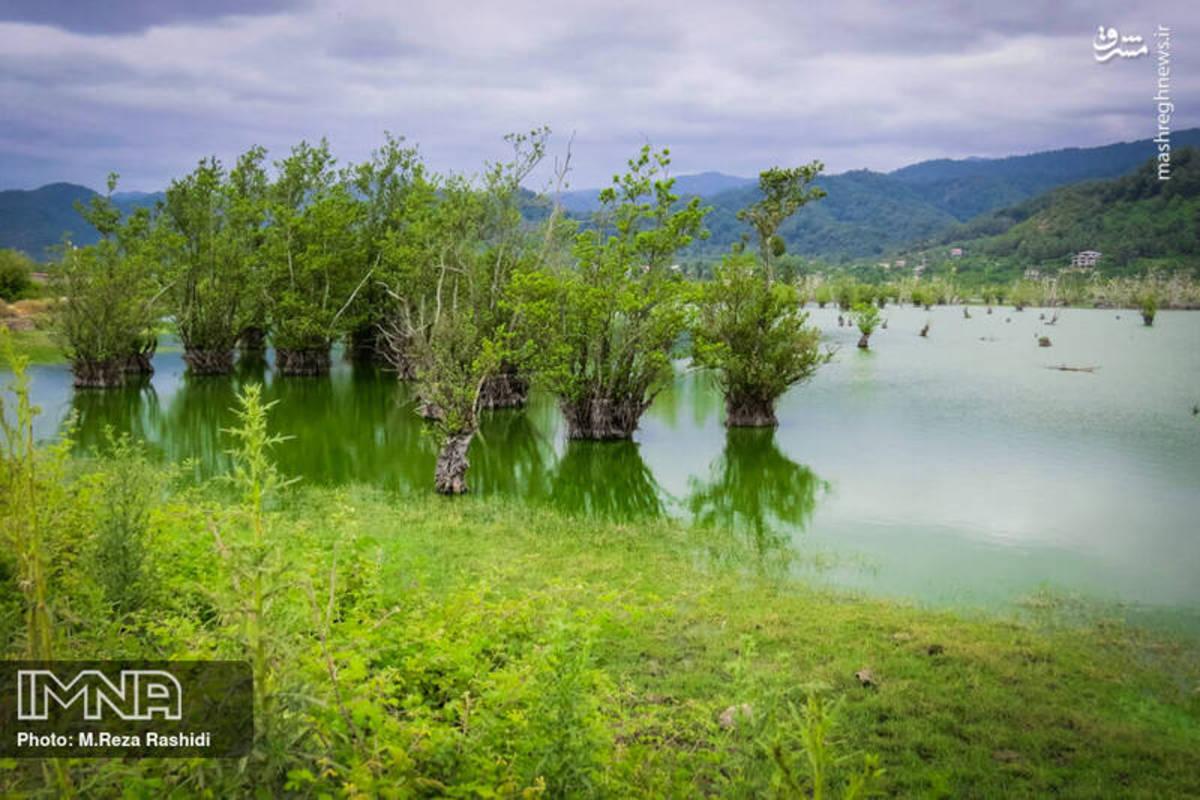 دریاچه متحرک ایران