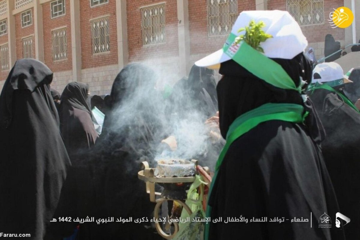 تجمع میلیونی یمنیها به مناسبت میلاد پیامبر