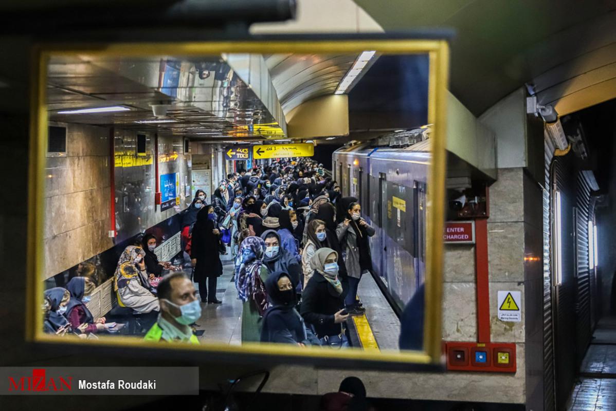 کرونا و مترو