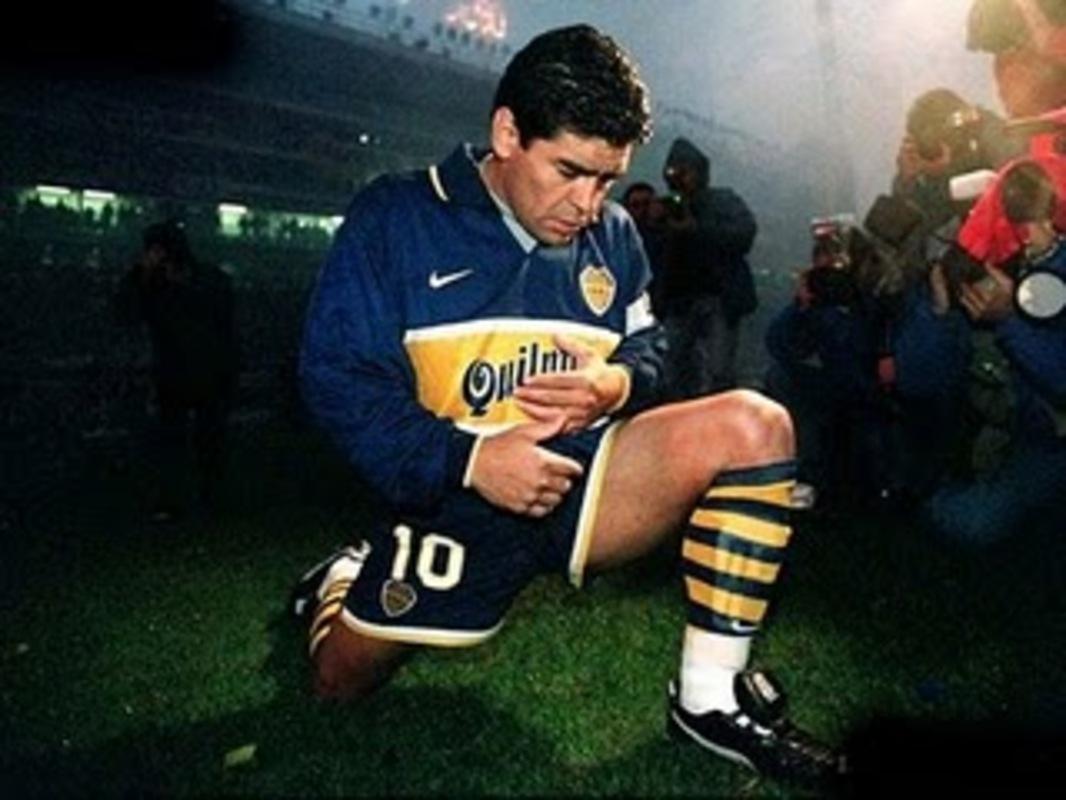 درگذشت مارادونا