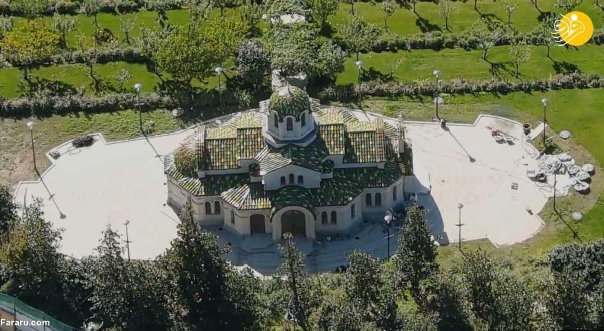 کاخ مجلل پوتین