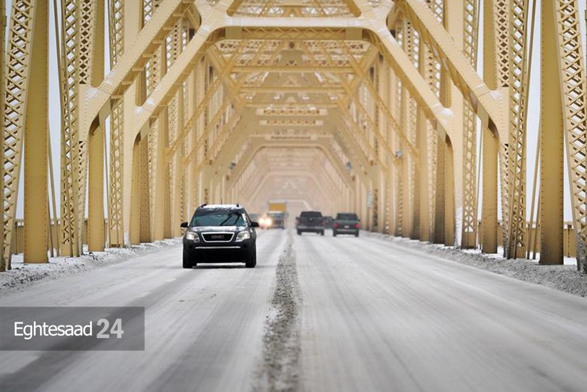 برف سنگین در تگزاس