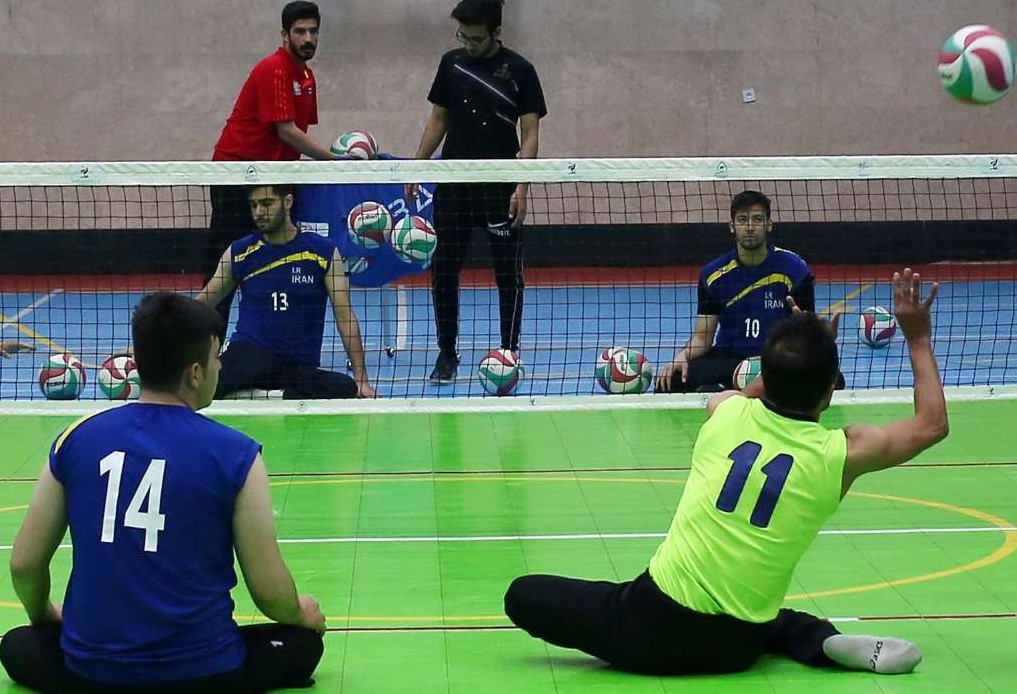 اردوی مشترک والیبال نشسته ایران و روسیه12