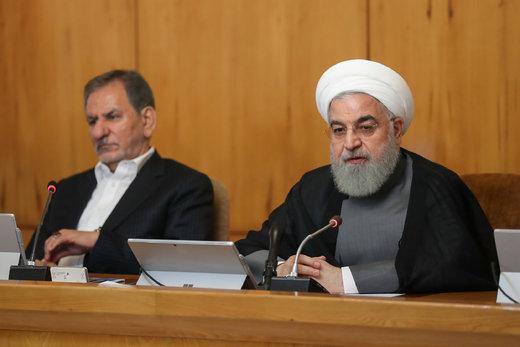 جلسه دولت به ریاست روحانی