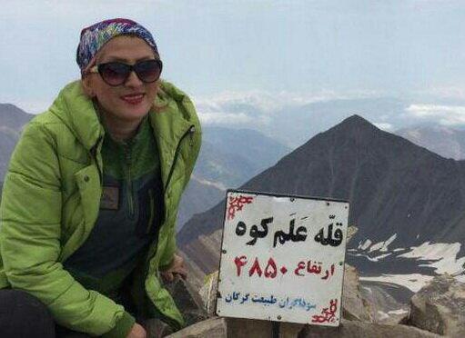 زن کوهنورد