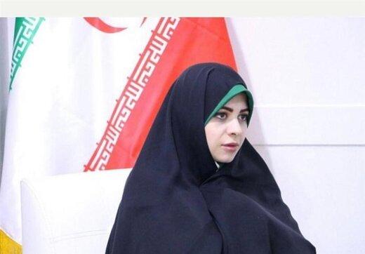 فاطمه صالحی فرزند سرلشکر صالحی فرمانده سابق کل ارتش