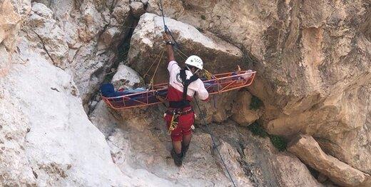 نجات جان ۱۲ کوهنورد مفقود شده در تنگ زندان