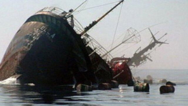 کشتی غرق شده شباهنگ