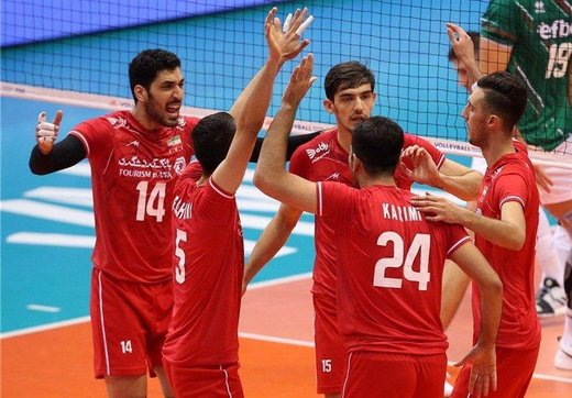 بازی والیبال ایران و مکزیک
