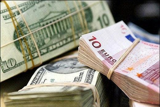 قیمت ارز در بانکها و صرافیهای مجاز بانک مرکزی