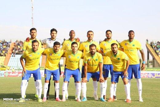 بازی نفت مسجد سلیمان - استقلال