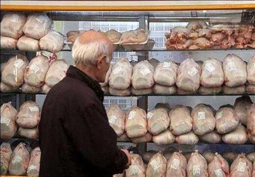 نرخ مرغ در بازار
