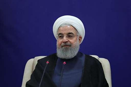 نشست خبری روحانی با رسانه های خارجی