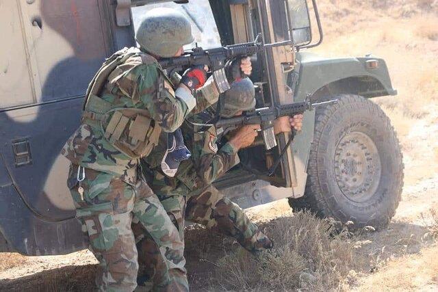 حملات نیروهای ویژه افغانستان